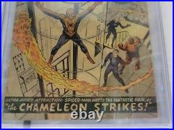 1963 Amazing Spider-man #1 Cgc 3.5 1st App J Jonah Jamesson Chameleon 35001 U. S