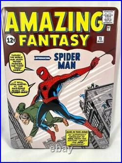 2018 Amazing Fantasy #15 Spider-Man 1 oz Silver Foil Cover CGC 9.6 1000 Made