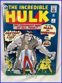 2019 Incredible Hulk #1 1 oz Silver Foil Cover CGC 9.8 1000 Made