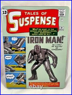 2020 Tales of Suspense #39 Iron Man 1 oz Silver Foil Cover CGC 9.9 1000 Made