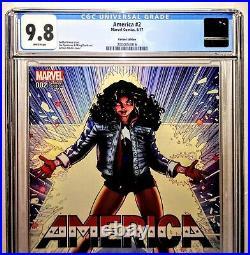 AMERICA #2 Variant 150 ADAMS Cvr CGC 9.8RARE Vengeance Ultimates Dr Strange 2