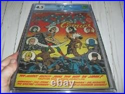 All Star Comics #11 CGC 4.5 with OW pages from 1942! Wonder Woman begins not CBCS