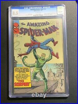 Amazing Spider-Man #20 CGC 8.5 (Marvel Comics 1965) 1st appearance of Scorpion