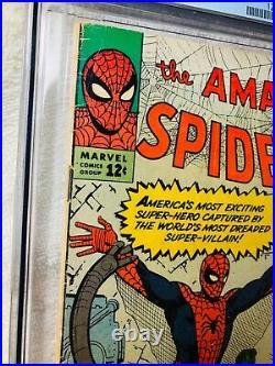 Amazing Spider-Man #3 (Jul 1963, Marvel) CGC 5.0 1st Doctor Octopus MCU