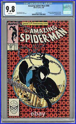 Amazing Spider-Man #300 CGC 9.8 1988 3801187001 1st full app. Venom