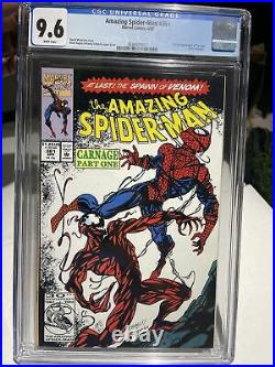 Amazing Spider-Man #361 CGC NM+ 9.6 1st Appearance of Carnage