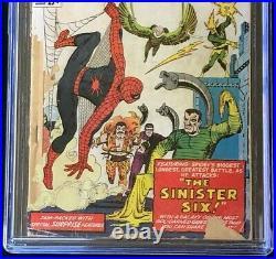 Amazing Spider-Man Annual #1 (1964) CGC 0.5 1st App of SINISTER SIX! Comic