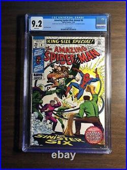 Amazing Spider-Man Annual #6 Comic CGC 9.2 SUPER RARE Double Cover! Sinister 6