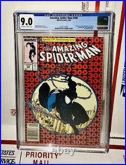 Amazing Spider-man #300 Newsstand Edition 1st Appearance Of Venom Cgc 9.0 Movie