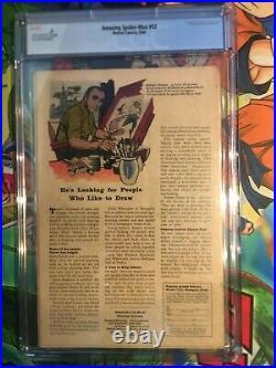 Amazing Spiderman #12 CGC 0.5 great starter issue