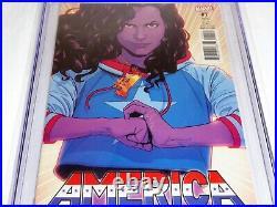 America #1 CGC Universal Grade Comic Variant 9.8 1s Solo America Chavez Comic