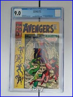 Avengers #47 (1967) 1st Appearance Dane Whitman Eternals Movie. 9.0 Cgc