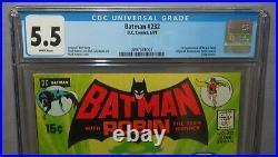 BATMAN #232 (Ra's Al Ghul 1st app) CGC 5.5 FN- DC Comics 1971 Neal Adams Cover