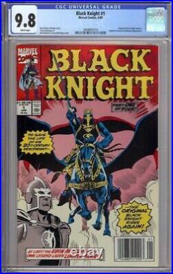 Black Knight #1 Cgc 9.8 Newsstand Original Black Knight Returns 1990