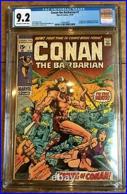 Conan The Barbarian #1 1st Appearance of Conan CGC 9.2 1346244002