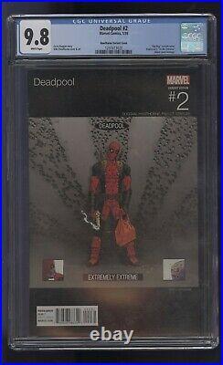 Deadpool #2 Cgc 9.8 Hip Hop Variant Vanilla Ice To The Extreme Comic Kings