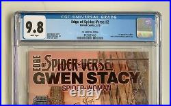 Edge of Spider-Verse #2 CGC 9.8 Comic Bug Variant 2014