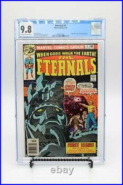 Eternals #1 CGC 9.8 OWithWH 1st Appearance Of The Eternals