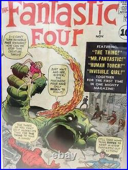 Fantastic Four #1 1961 CGC 4.5 Restored B-5 Amazing Eye Appeal This is the One