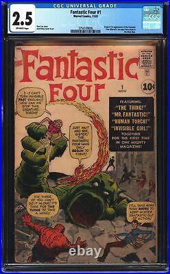 Fantastic Four 1 CGC 2.5