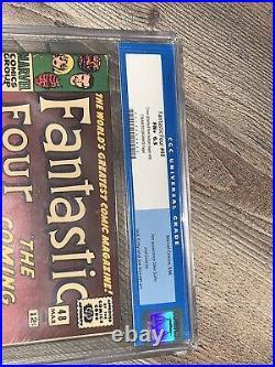 Fantastic Four 48 CGC 6.5 FN+ CR/OW Marvel 1966 1st App Silver Surfer & Galactus