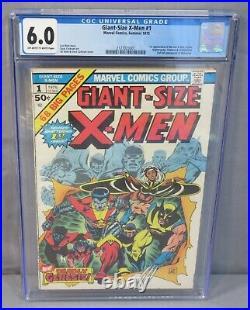 GIANT-SIZE X-MEN #1 (Storm, Colossus, Nightcrawler) CGC 6.0 Marvel Comics 1975