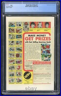Giant Size X-Men #1 CGC 9.4 (Marvel 1975) 1st app New Team, 2nd full Wolverine