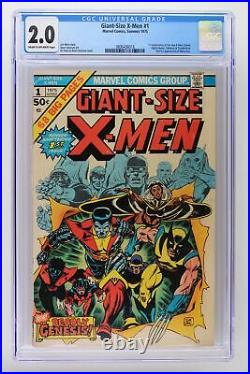 Giant-Size X-Men #1 Marvel 1975 CGC 2.0 1st Appearance of the new X-Men