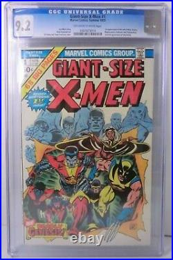Giant-size X-men 1 Marvel Comic Cgc 9.2 1st Appearance Storm 2nd Wolverine 1975