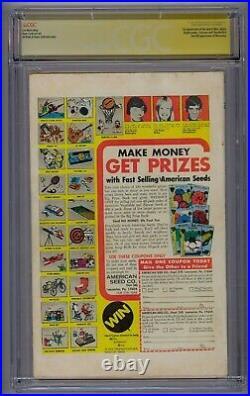 Giant-size X-men #1 Ss Cgc 5.0 1st App New X-men 2nd Full App Wolverine Stan Lee