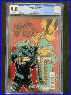 Howard The Duck #2 150 ASRAR Variant Run The Jewels CCG 9.8 MARVEL COMICS