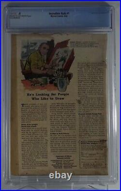 Incredible Hulk #1 CGC. 5 1st Appearance of Hulk Marvel 1962