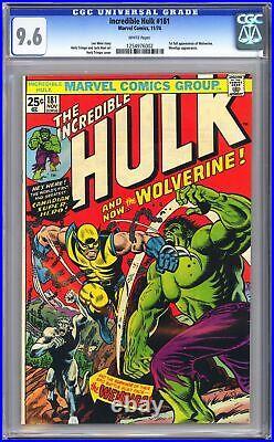 Incredible Hulk #181 CGC 9.6