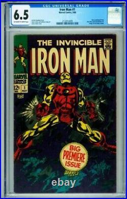 Iron Man #1 CGC 6.5 Marvel Comics Origin of Iron Man 2132014009