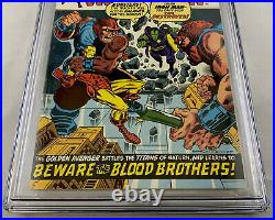 Iron Man # 55 CGC 8.0 OWithW (Marvel 1973) 1st full appearance of Thanos