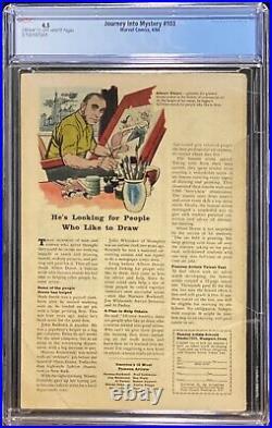 Journey Into Mystery 103 Marvel 1964 CGC 4.5 1st Enchantress MCU Loki Sylvie
