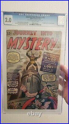 Journey Into Mystery 85 1st Loki Htf Cgc2.0