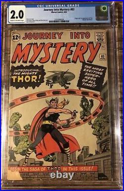 Journey into mystery #83 2.0 cgc