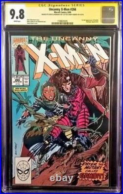 MARVEL Comic UNCANNY X-MEN #266 CGC SS 9.8 Kubert Claremont WOLVERINE 1st GAMBIT