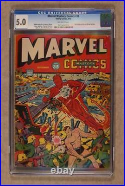 Marvel Mystery Comics #35 CGC 5.0 1942 1213432013