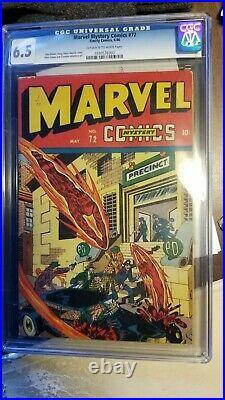 Marvel Mystery Comics 72 Cgc 6.5 1946 Human Torch