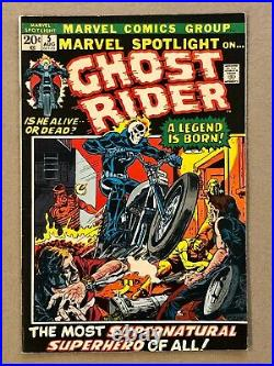 Marvel Spotlight # 5 1st Appearance of Ghost Rider Glossy Bright 1 Owner