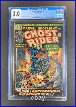 Marvel Spotlight #5 CGC 3.0 1st App. Ghost Rider
