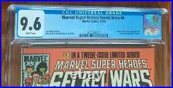 Marvel Super Heroes Secret Wars 8 CGC 9.6 First App Spider-Man's Black Suit