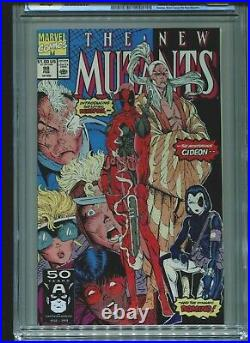 New Mutants #98 CGC 9.8 (1991) First 1st Deadpool (Wade Wilson) Gideon & Copycat