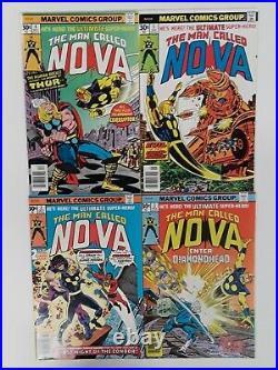 Nova #1 Cgc 9.8 + #2,3,4,5 Lot1976 Marvel1st App. Of Richard Riderkey