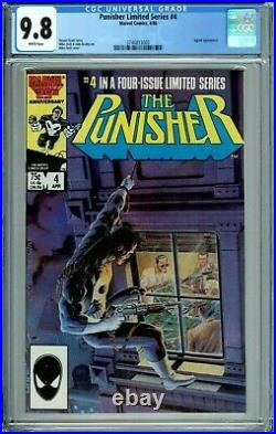 Punisher 1 2 3 4 5 Cgc 9.8 All Wp Limited Series New Cgc Cases Marvel Comic 1986