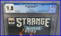STRANGE ACADEMY #1 (Opena 150 Breakfast Club homage variant) CGC 9.8 NM/MT