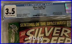 Silver Surfer #1 CGC 3.5 Origin of the Silver Surfer! 1968 Silver Age Marvel Key