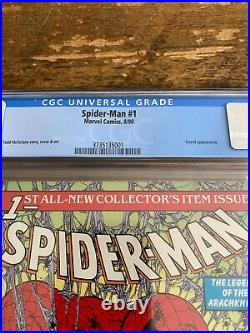 Spider-Man #1 Silver Green Gold Variants Lot CGC 9.8 Marvel Comics McFarlane